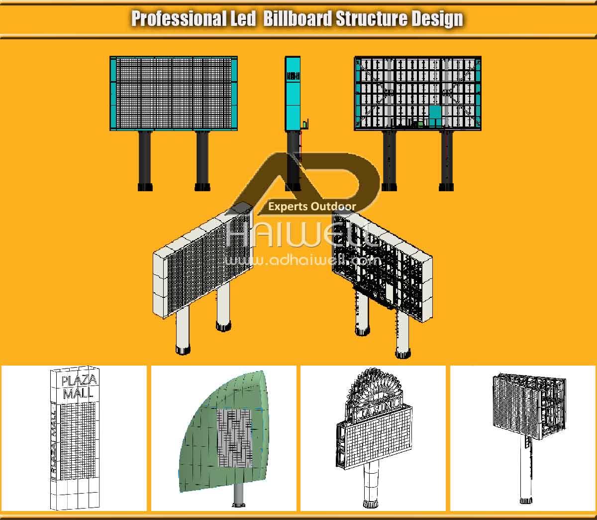 Professionale-LED-Billboard-Structure-Design