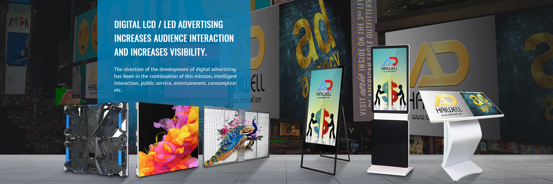 Digital LCD/LED Advertising Display