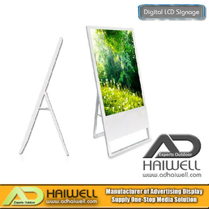 "42 ""Segnaletica per display LCD digitale portatile ultrasottile"